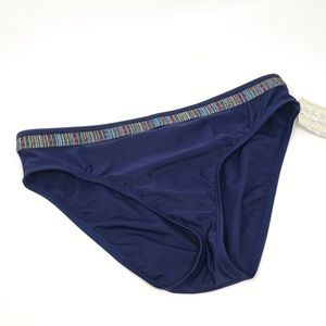 24th & Ocean | Navy Blue Swim Bottoms Size Lg